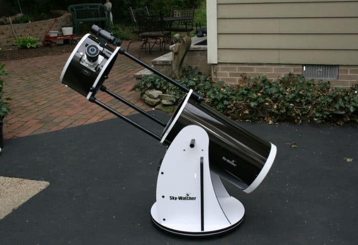 sky-watcher 10 collapsible dobsonian telescope review
