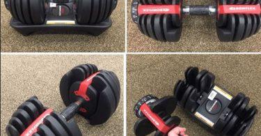 bowflex adjustable dumbbells black friday
