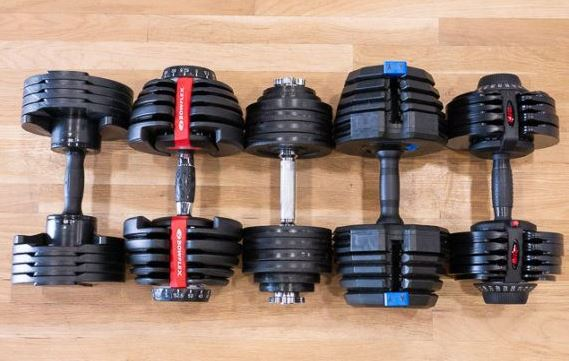 bowflex adjustable dumbbells black friday deals