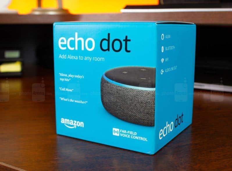 Amazon Echo Dot 3 Black Friday deals
