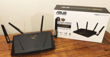 ASUS RT-AX88U AX6000 black friday
