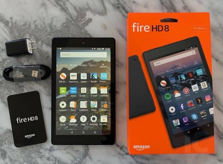 Fire HD 8 Tablet black friday deals