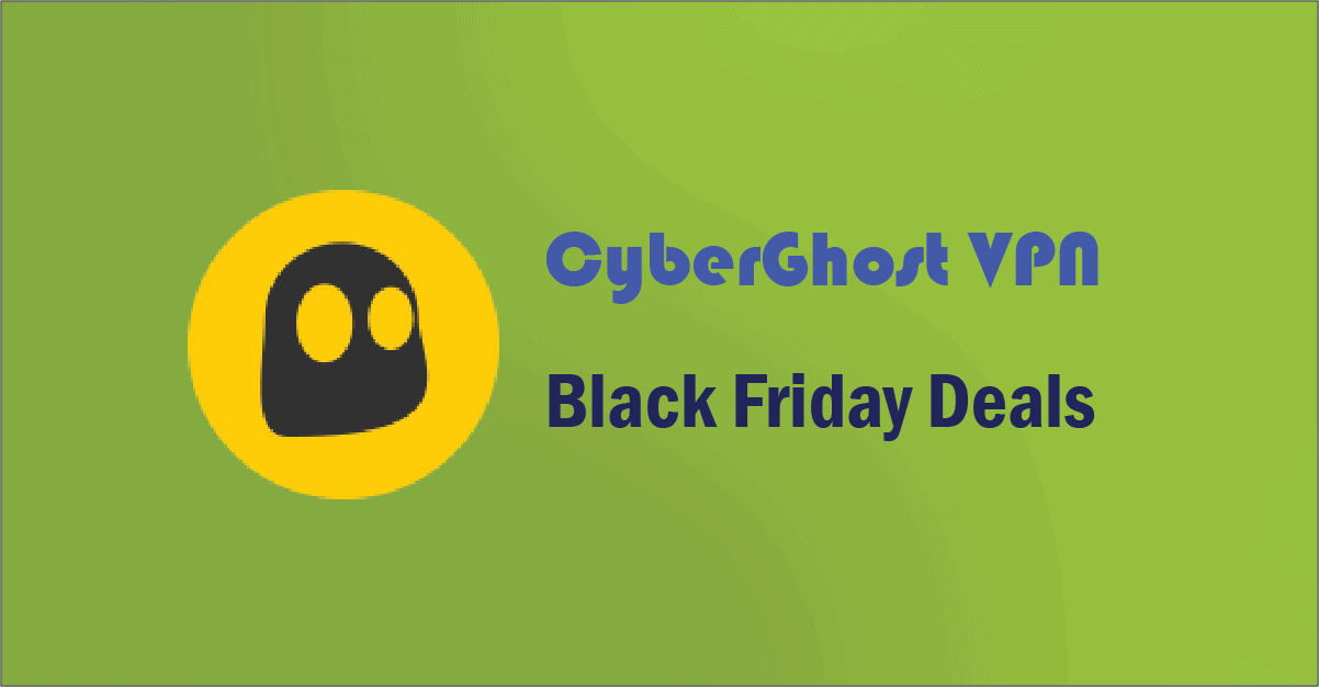 CyberGhost VPN Black Friday