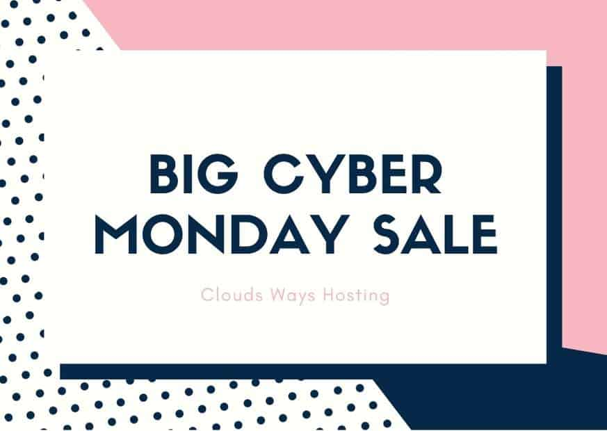cloudways cyber monday