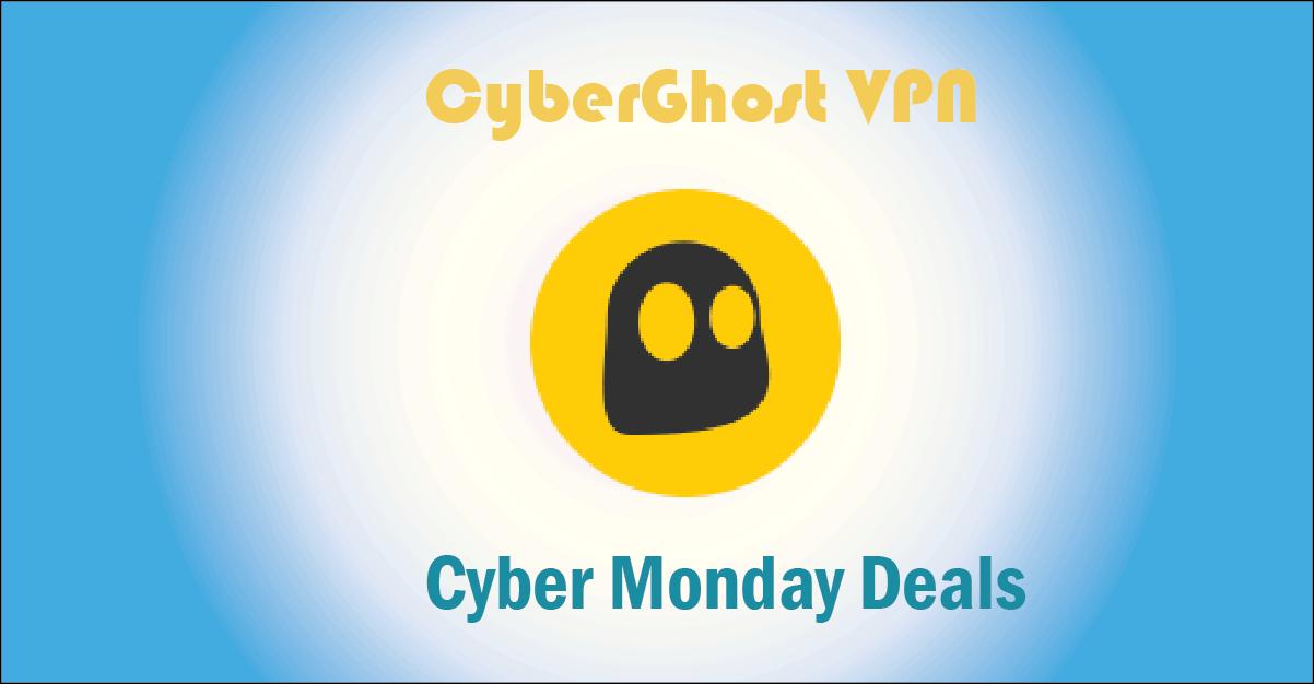 CyberGhost VPN Cyber Monday
