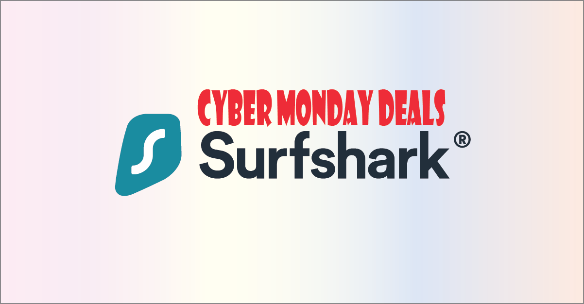 Surf Shark VPN cyber monday