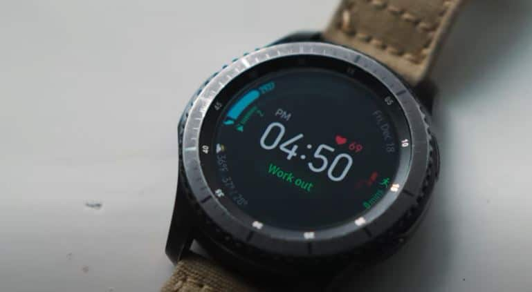samsung gear s3 frontier cyber monday