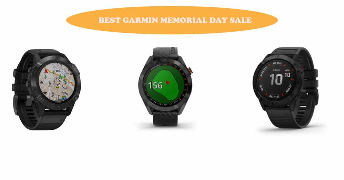 Garmin Memorial Day Sale