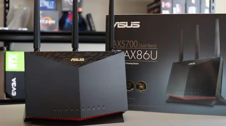 ASUS AX5700 RT-AX86U Black Friday